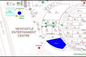 Event Site Plan Of Newcastle Entertainment Centre by www.visiogroup.com.au