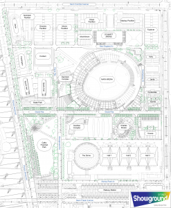 Royal Australian Showground Site Map