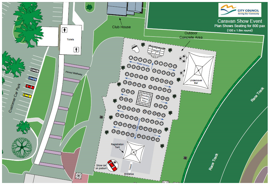 Outdoor Site Plans For Festivals Sport Events Weddings
