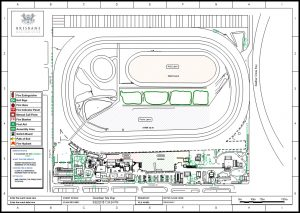 Brisbane Racing Club Race Course Floor Plan