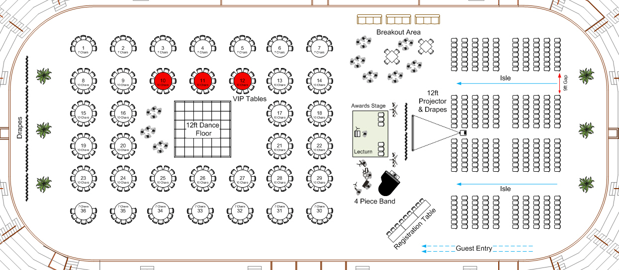 Denver University Example Shapes Floor Plan By VisioGroup