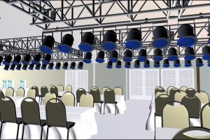 3D Image Of Function Room By www.visiogroup.com.au
