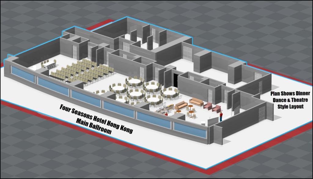 Four Seasons Hotel Hong Kong-Floor Plan Software
